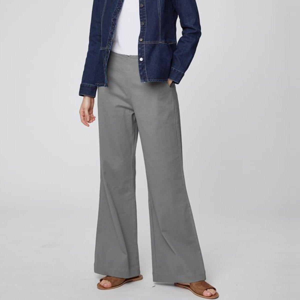 Pantaloni Camilla in Cotone Biologico