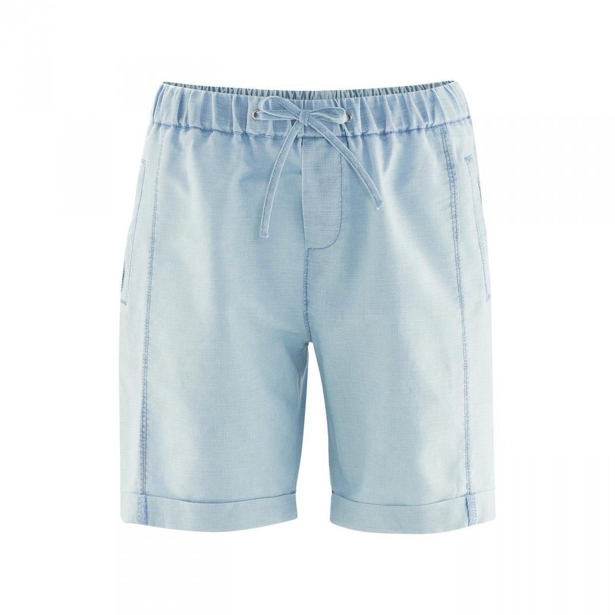 Pantaloni corti Arielle in lino e cotone biologico