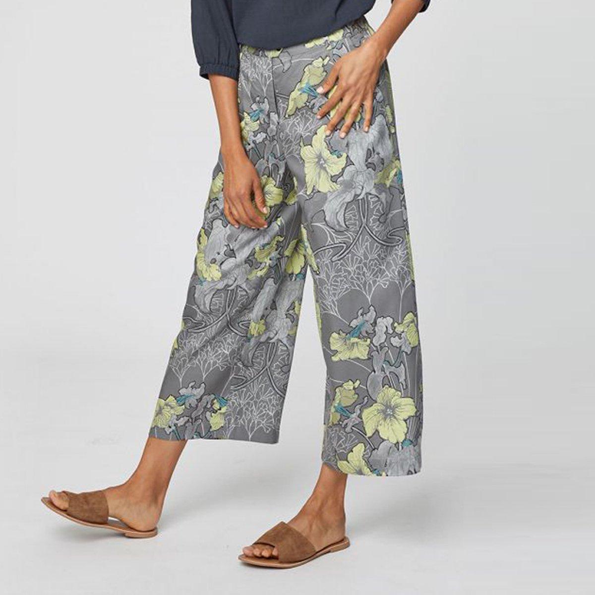 Pantaloni Crop Lily in Tencel