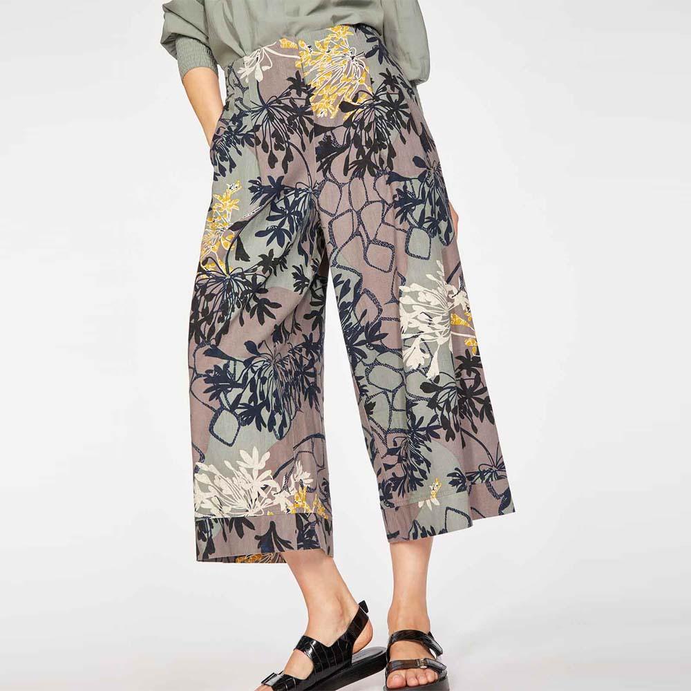 Pantaloni Culotte BRIELLE da donna in Canapa