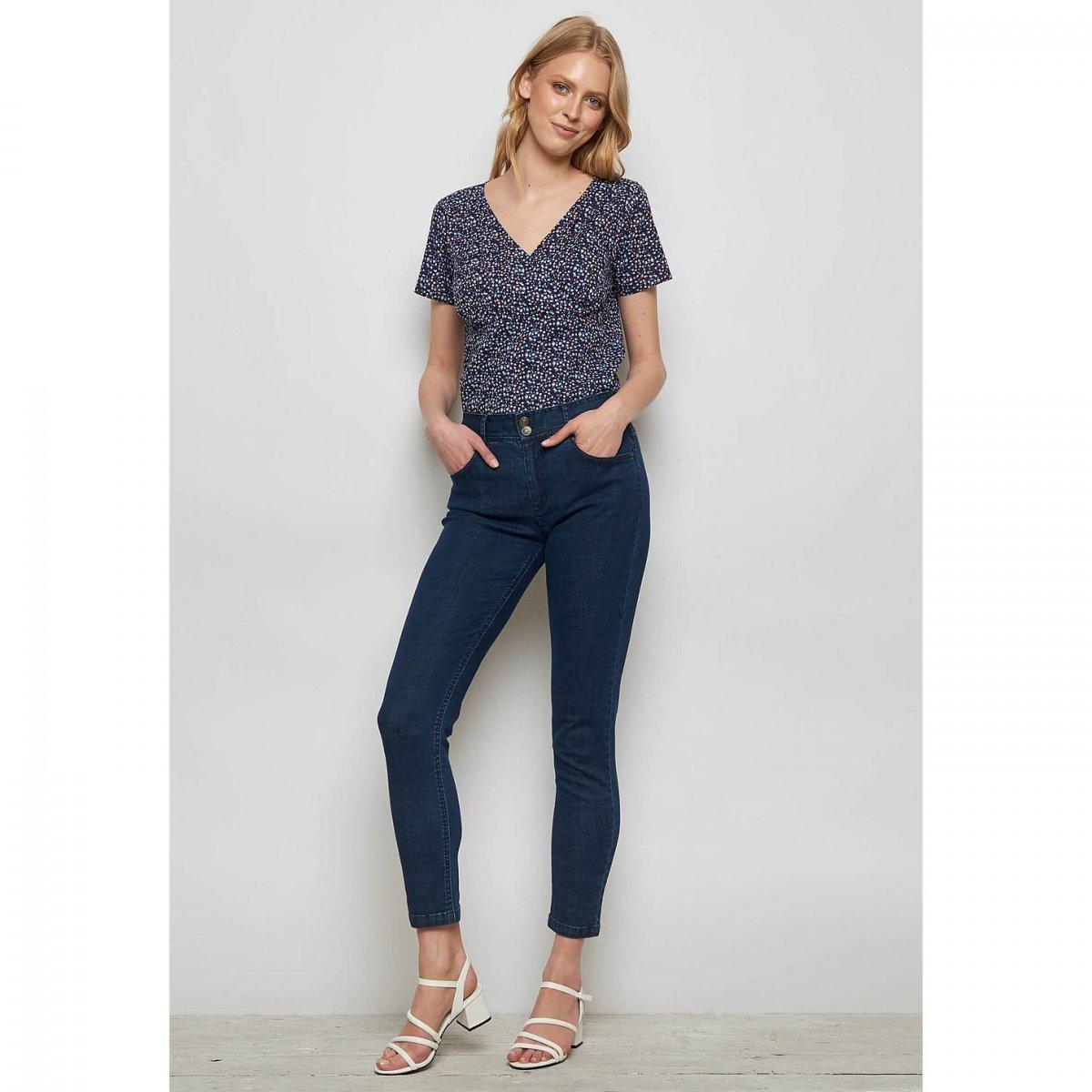 Pantaloni Jeans Skinny Mahlia in cotone biologico