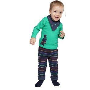 Pantaloni reversibili Popolini in cotone biologico