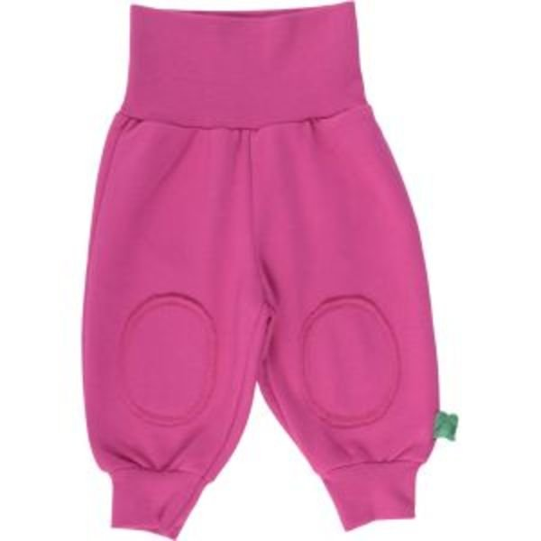 Pantaloni toppe bambina in cotone biologico