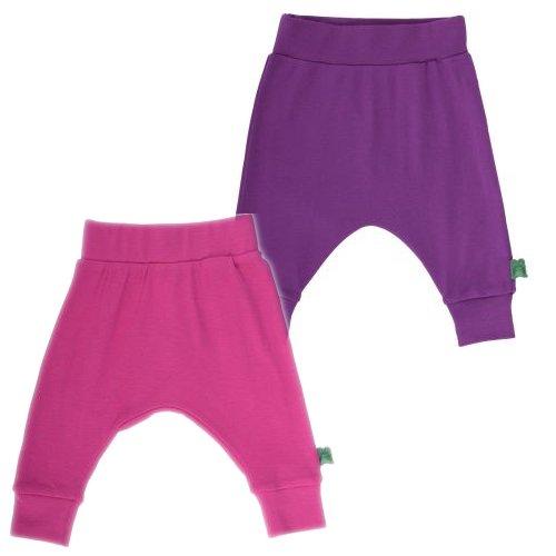Pantaloni funky bambina in cotone biologico