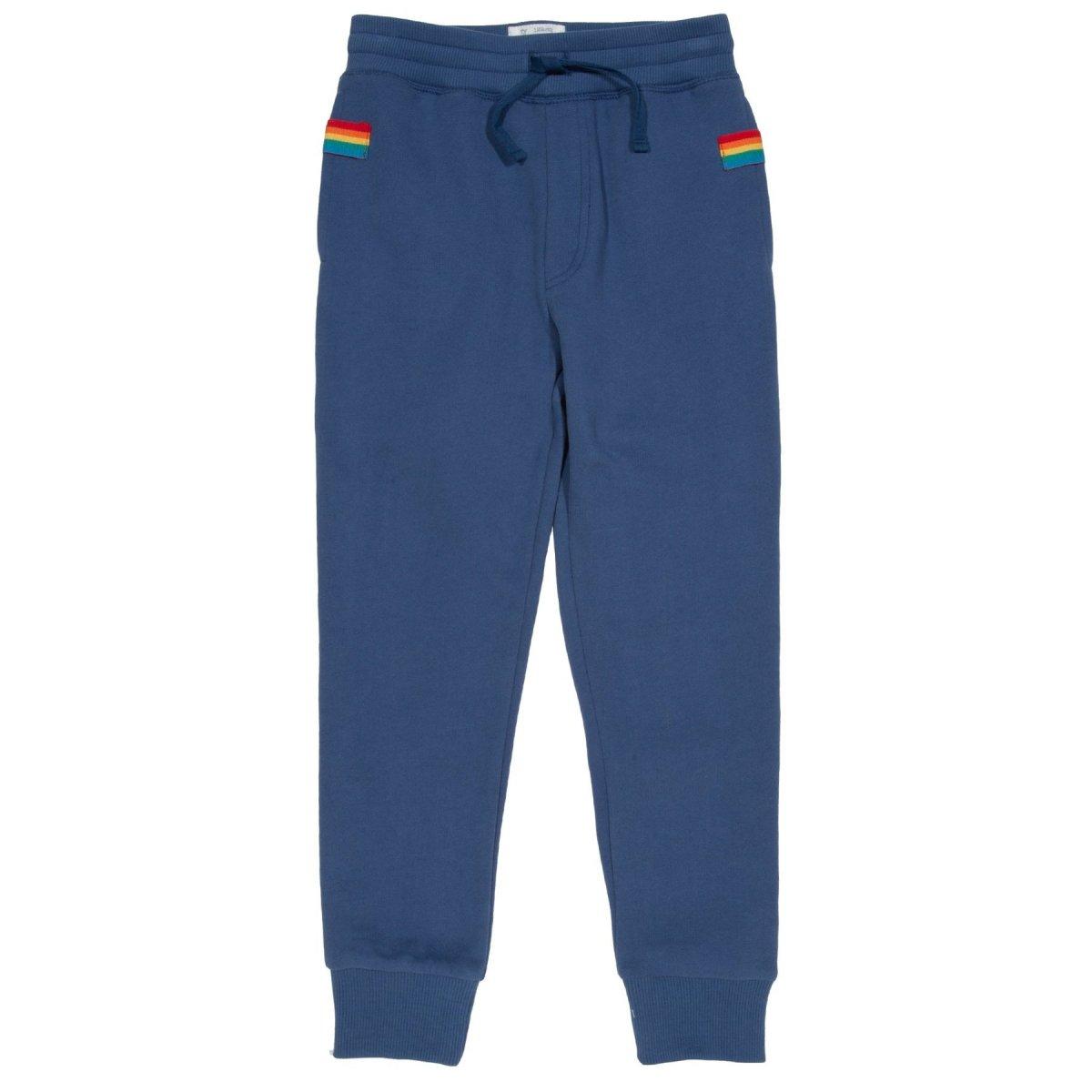 Pantaloni tuta per bambino Side Stripe in felpa di cotone biologico