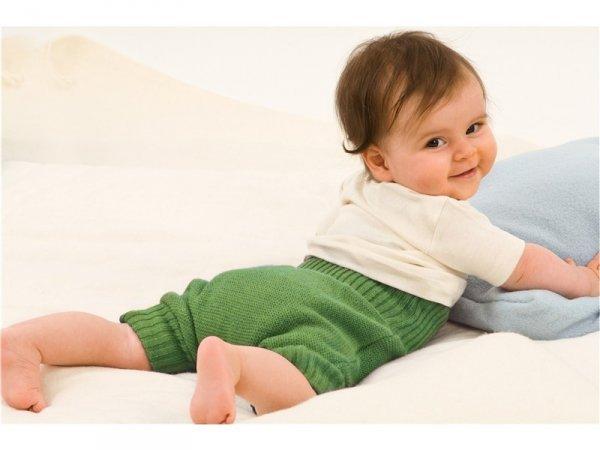 Panties diaper cover in knitted wool Disana