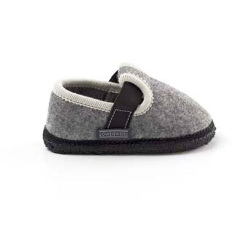 Più affidabile vendita calda bellissimo a colori Pantofole bambini in feltro di lana - Löwenweiss