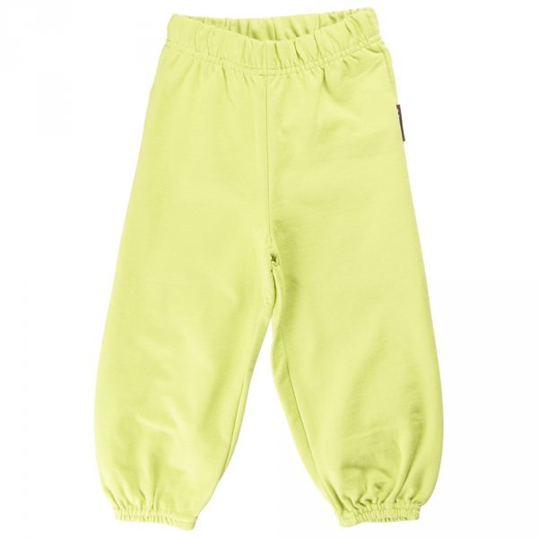 Pants baby Green in organic cotton