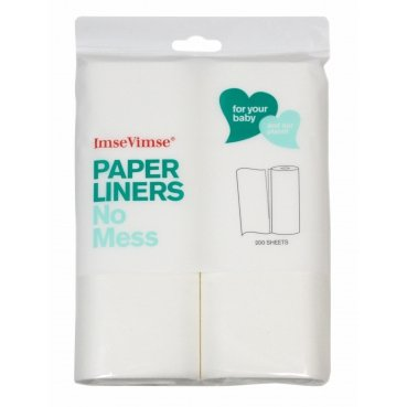 Disposable Paper Liners 200 pieces