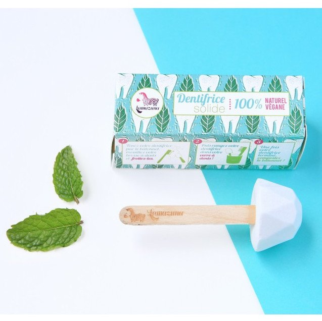 Peppermint solid toothpaste