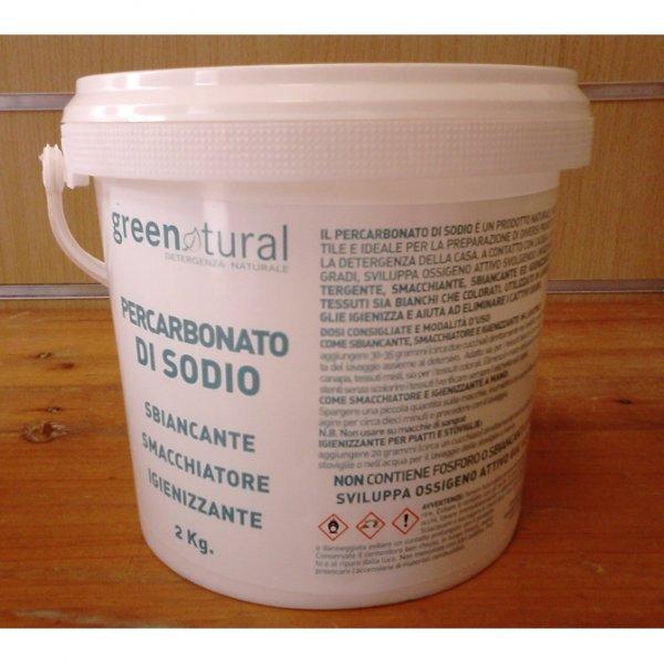 Percarbonato di sodio e sodio carbonato 2 kg