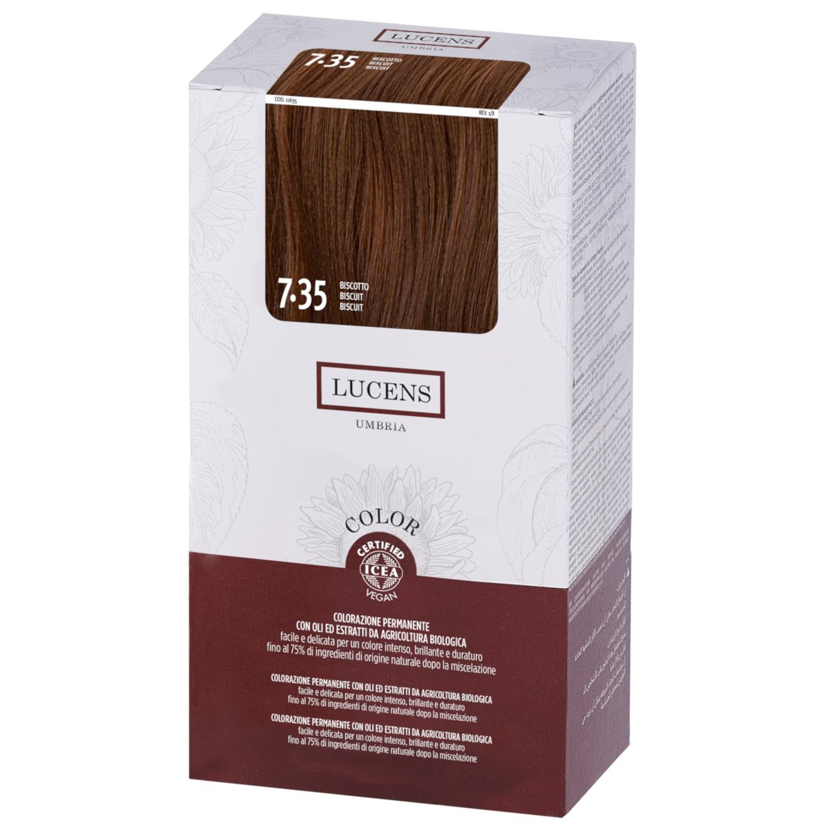 Permanent Hair Color 7.30 BISCUIT