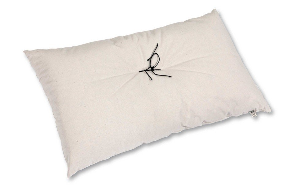 Pillow in pure natural cotton  40x60 cm