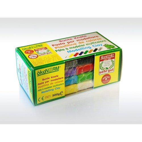 Plastilina colorata da 500gr Nawaro