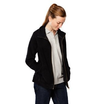 Polar Fleece jacket with zip  in organic cotton