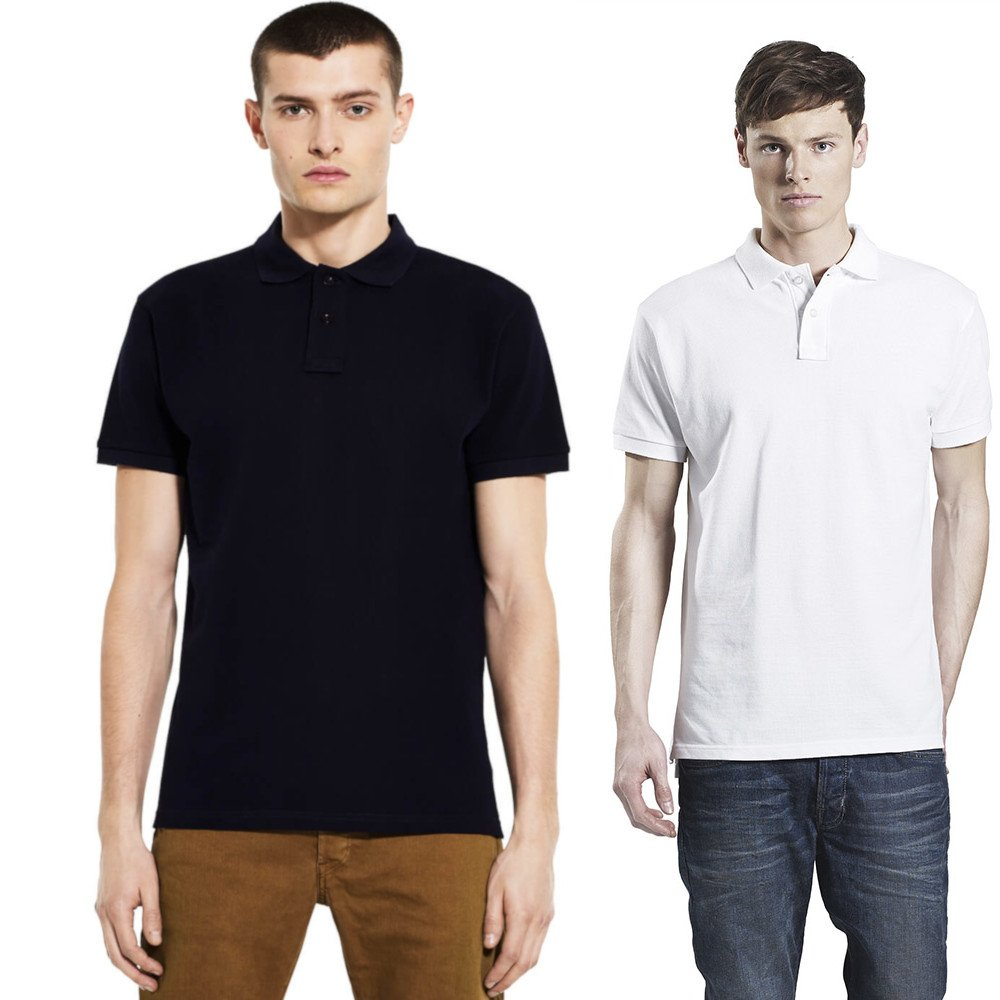 Polo classic shirt man in organic cotton