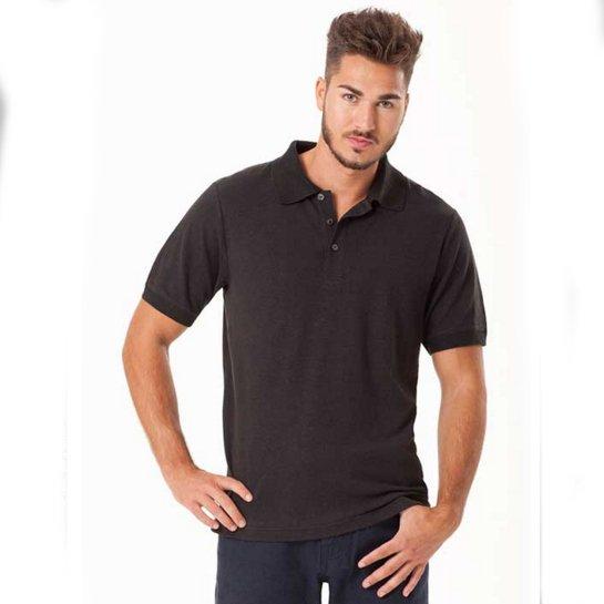 Polo short sleeve for man in hemp