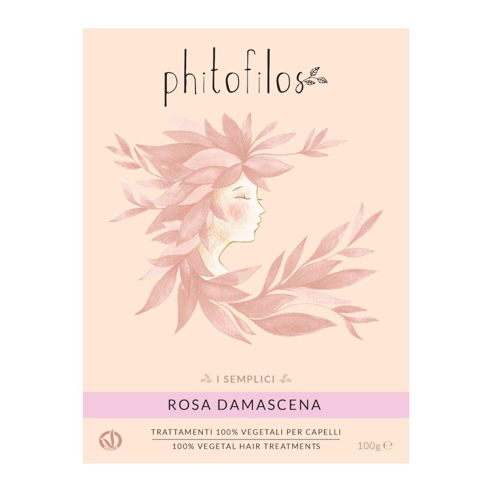 Polvere Pura di ROSA DAMASCENA Phitofilos i Semplici