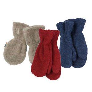 Popolini mittens in organic wool