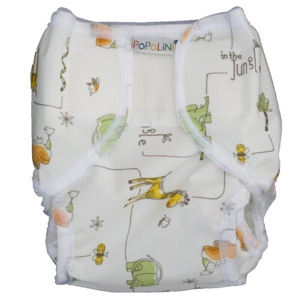 PopoWrap diaper cover pants animals of Africa