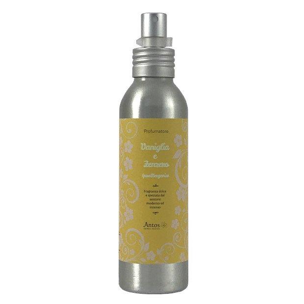 Profumo per ambiente spray Vaniglia e Zenzero