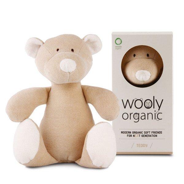 Pupazzo peluche orsetto Teddy in Cotone Bio
