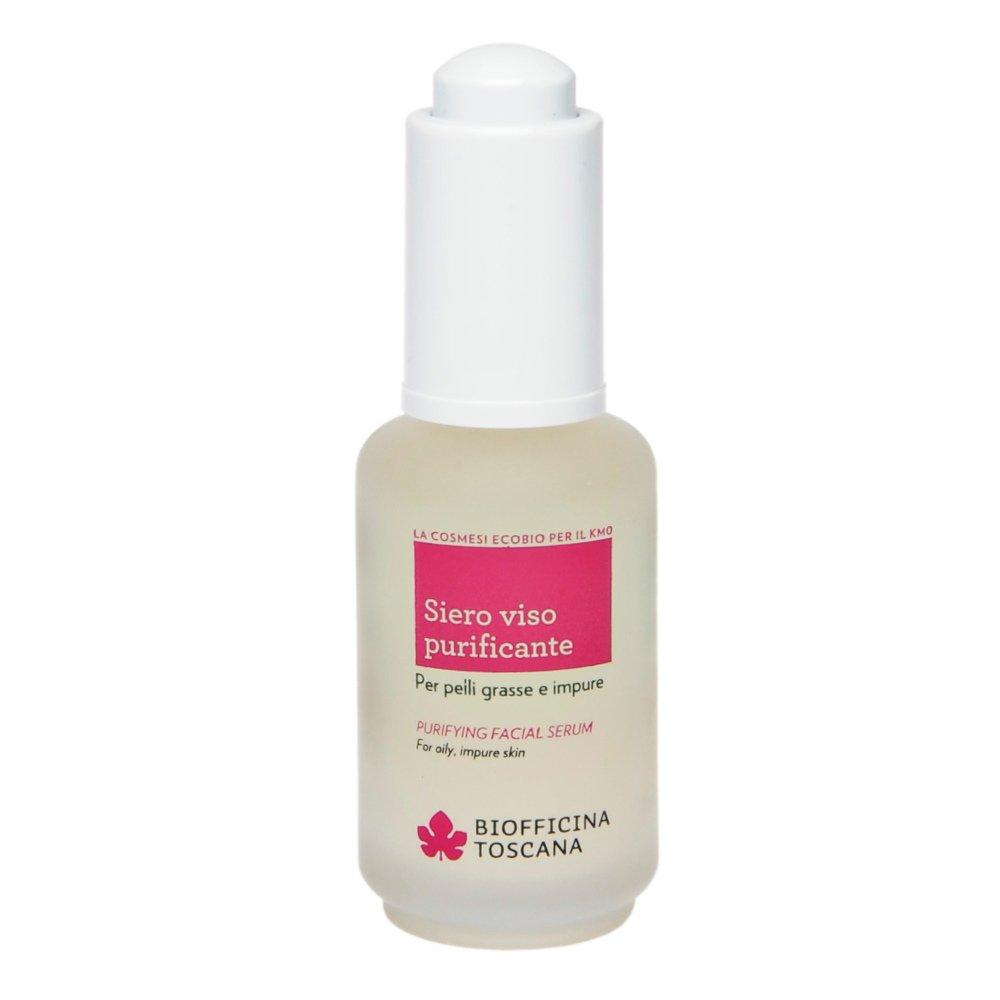 Purifying facial serum