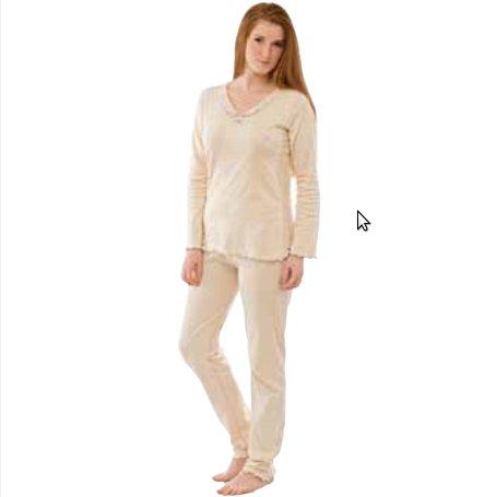 Pyjama in organic cotton interlock