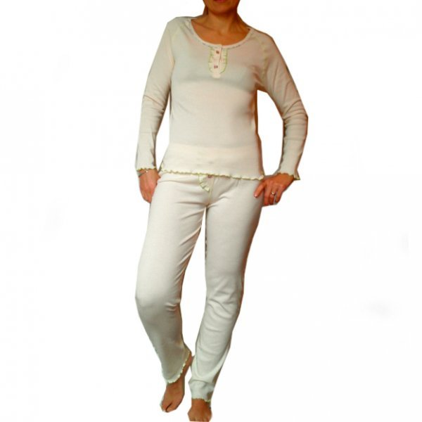 Pyjama in organic cotton
