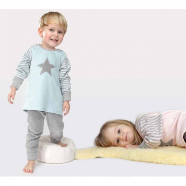 Pyjama Popolini in organic cotton vellour