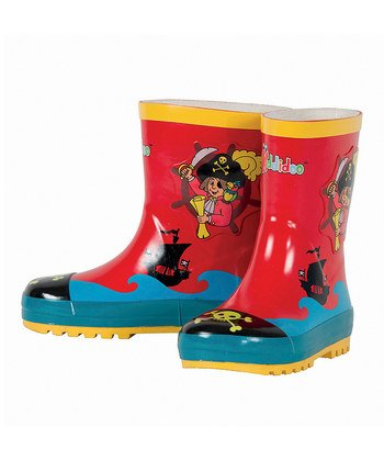 Rain boots Pirate