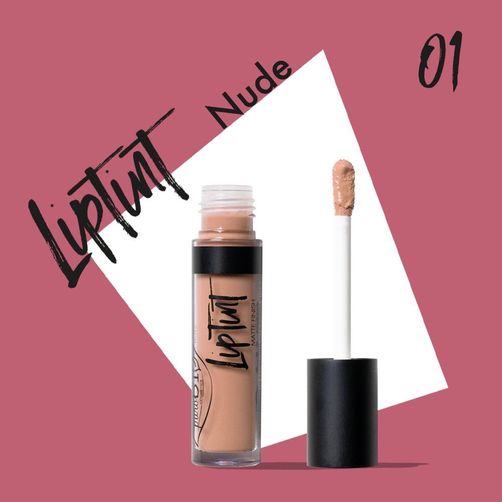 Rossetto Liptint 01 - Nude VEGAN puroBIO