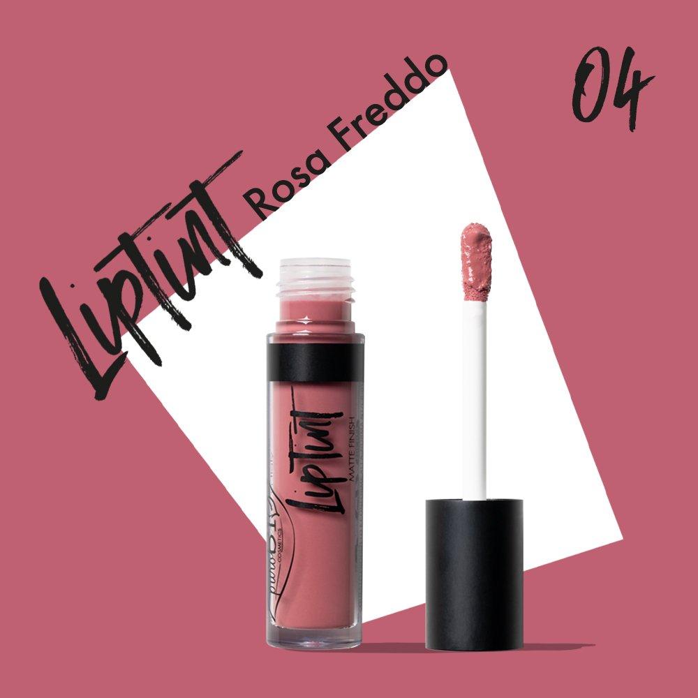 Rossetto Liptint 04 - Rosa Freddo puroBIO
