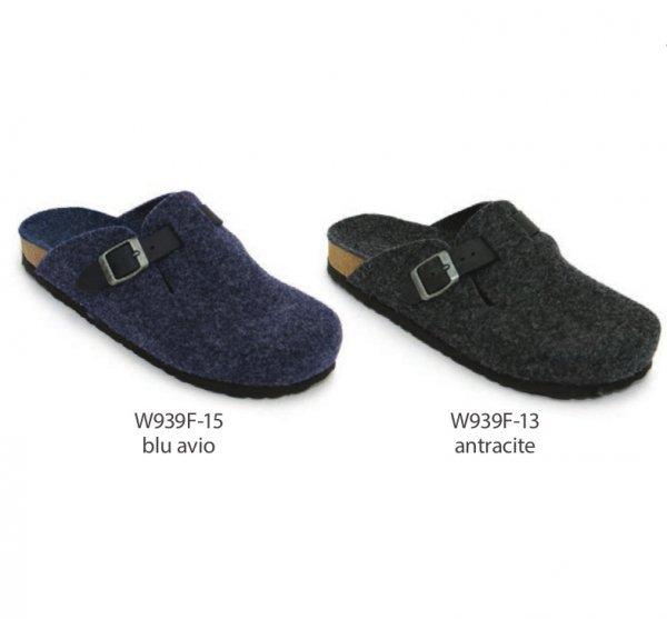 Sabot unisex in feltro di lana