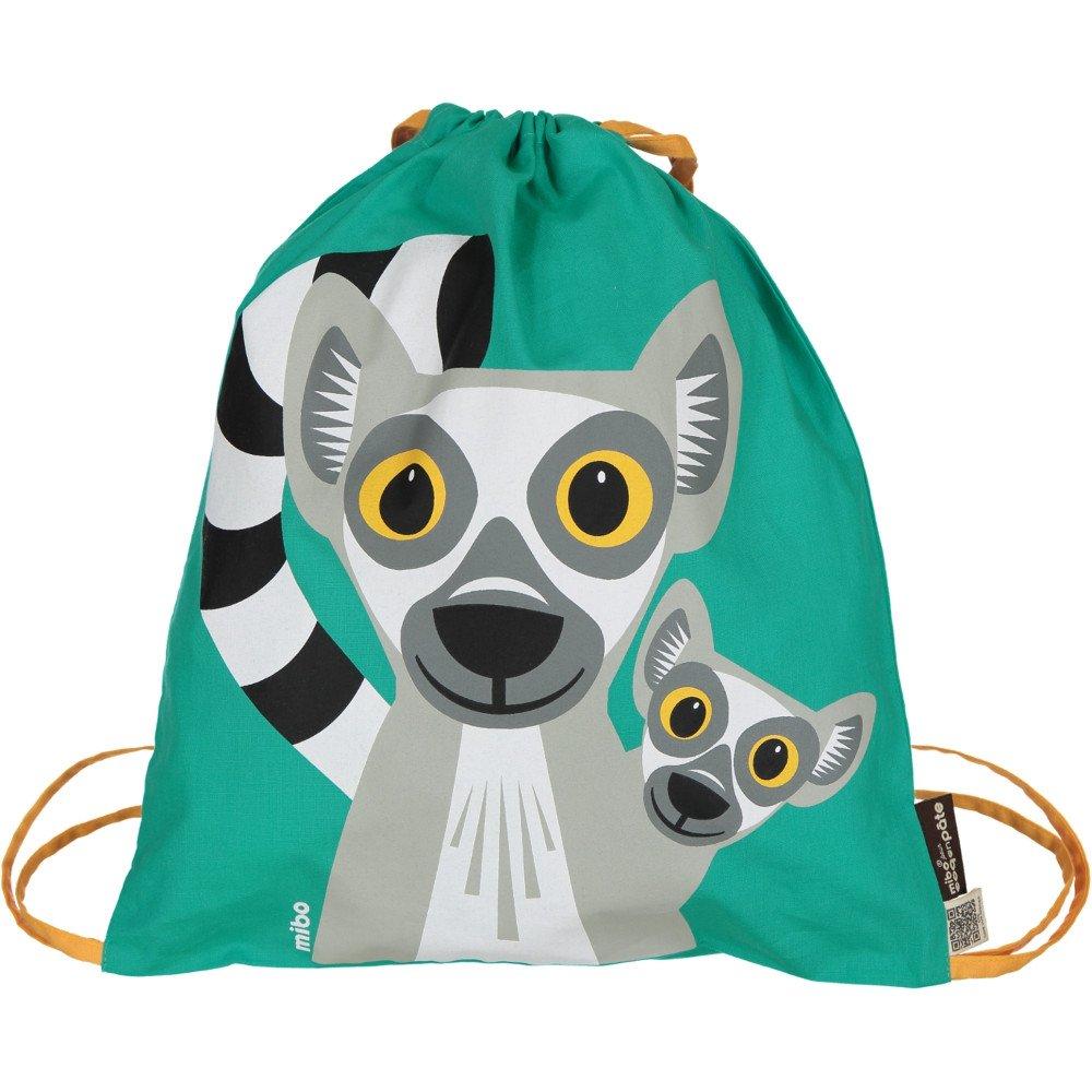 Sacca Lemuri in cotone biologico