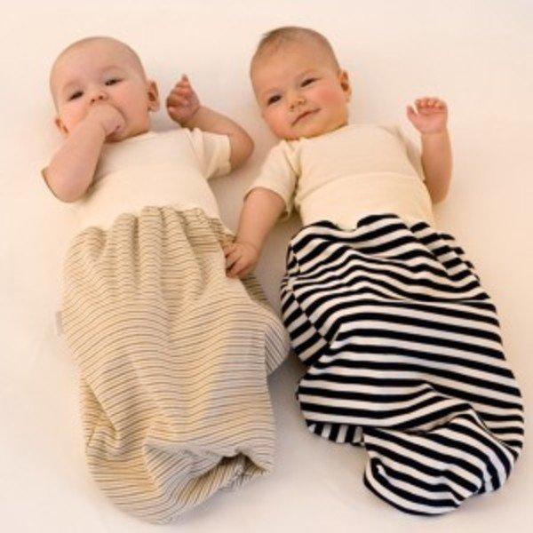Sacco neonato leggero in cotone biologico
