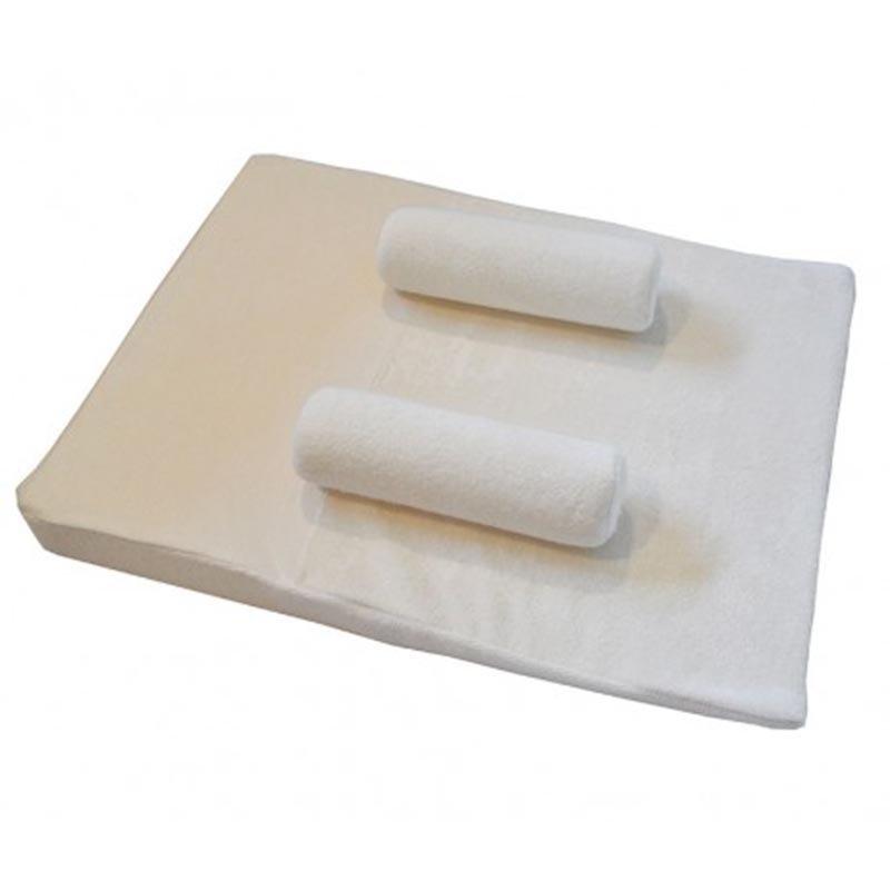 Safe to sleep mattress in organic bamboo