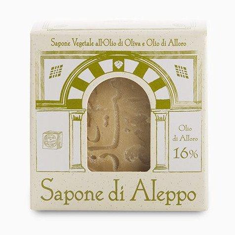 Sapone di Aleppo 16% olio di alloro