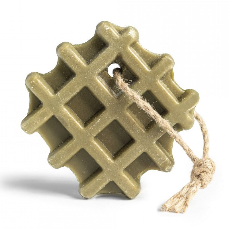 Sapone di Marsiglia all'olio d'oliva Waffle appendibile