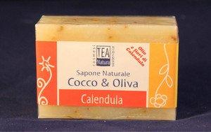 Sapone naturale all'olio di cocco e oliva con calendula