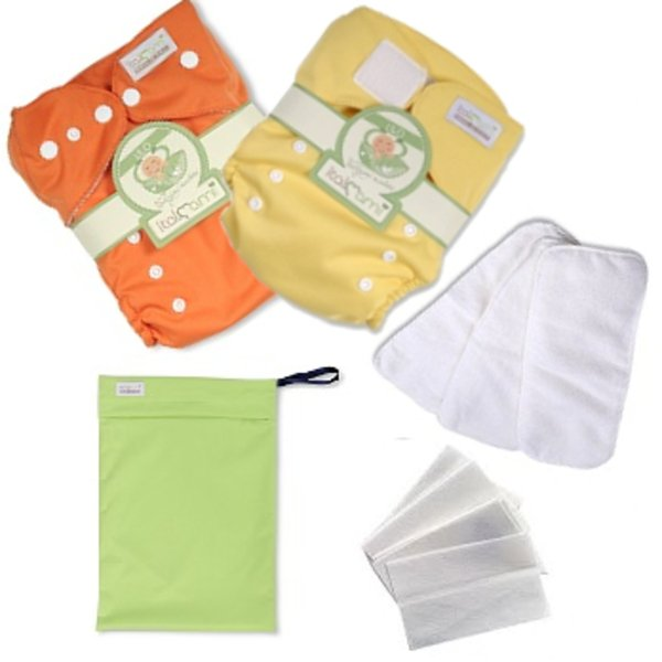 Savings kit pocket bamboo nappies