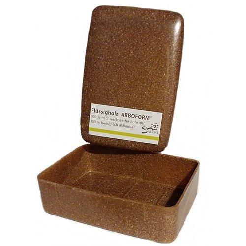 Scatola portasapone in legno liquido Arboform