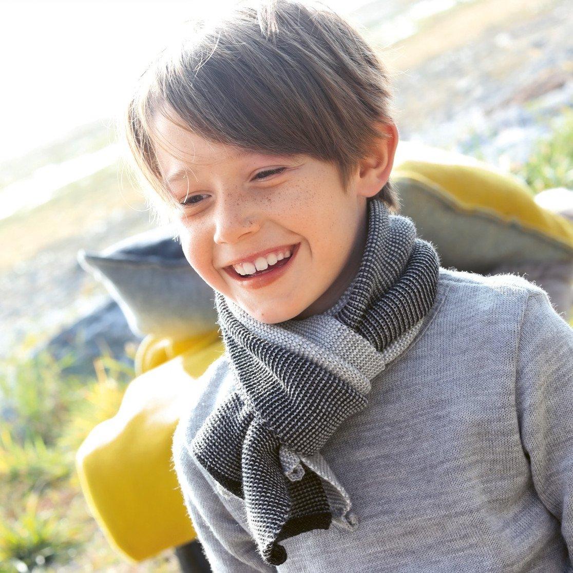Sciarpa bambini Disana in lana merino biologica