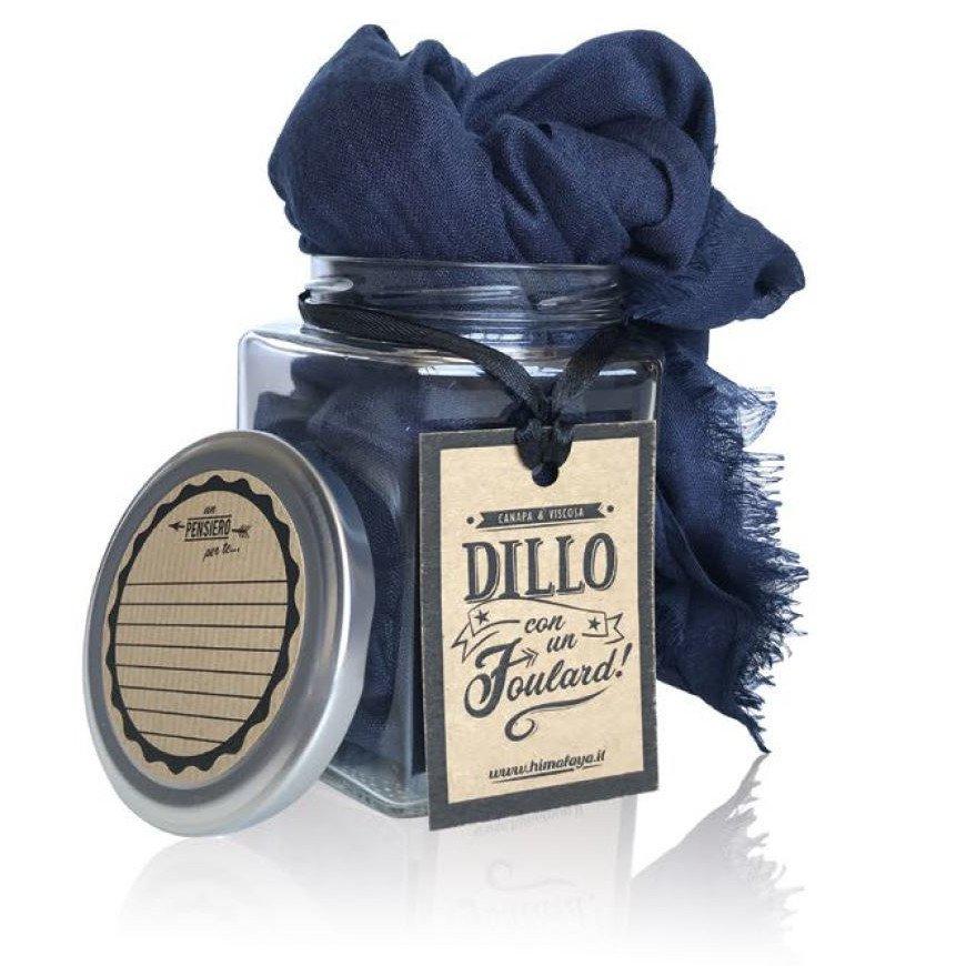 Sciarpa Canapa e Viscosa in confezione regalo Dillo con un Foulard!