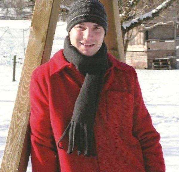 Sciarpa unisex in pile di lana biologica