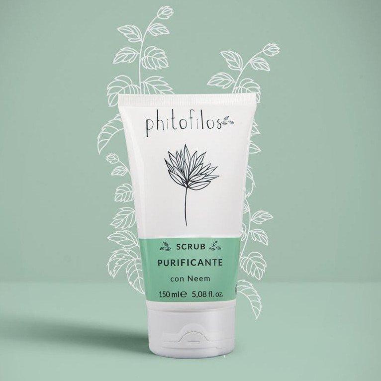 Scrub purificante per capelli grassi e forfora BioVegan Phitofilos