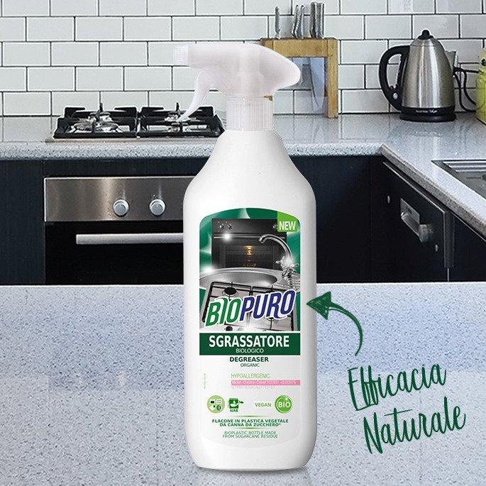 Sgrassatore concentrato multiuso 500 ml BIOPURO