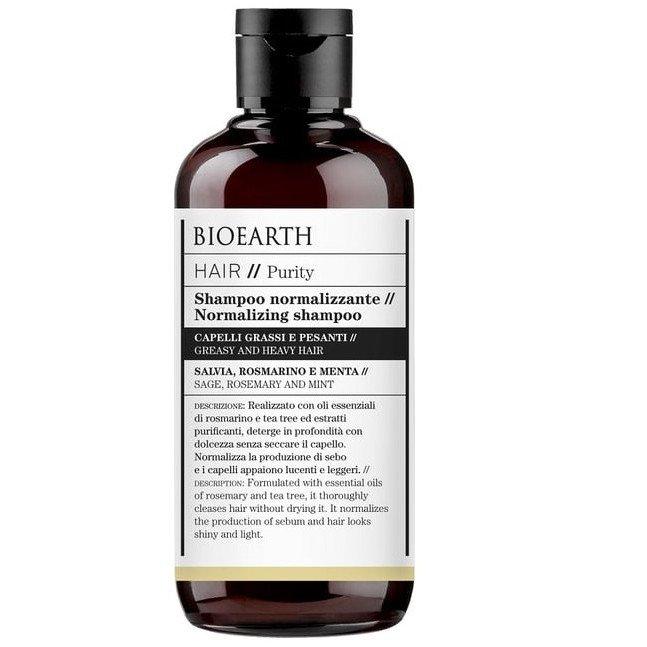 Shampoo capelli grassi e pesanti Normalizzante Bioearth