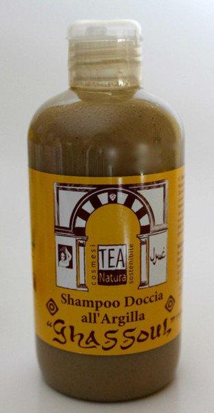 "Shampoo doccia all'argilla ""ghassoul"" TEA"