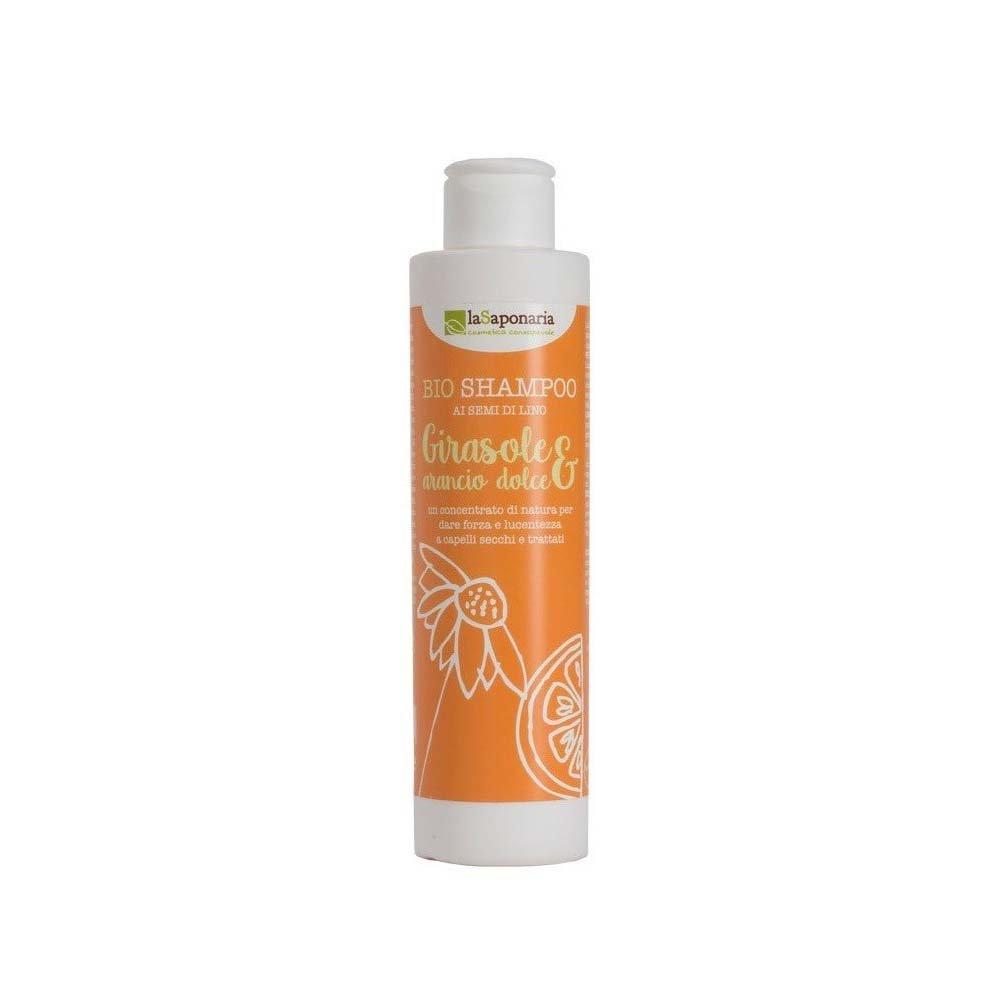 Shampoo girasole e arancio dolce - Capelli secchi e trattati